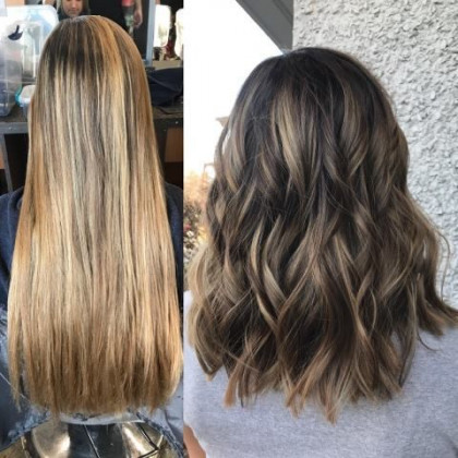 Cosmetology School in Taylor, MI | Hair Before and After | Hair Cut and Color