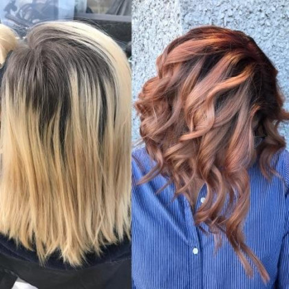 Cosmetology School in Michigan | Hair Cut and Color | Before and After Hair Styling
