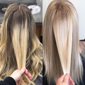 Cosmetology School in Taylor, MI | Before and After Hair Color | Before and After Blonde Hair