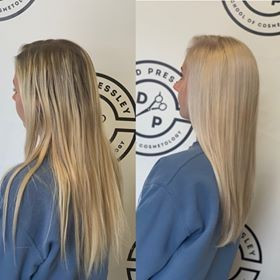 Royal Oak Before and After Hair | Blonde Hair Style