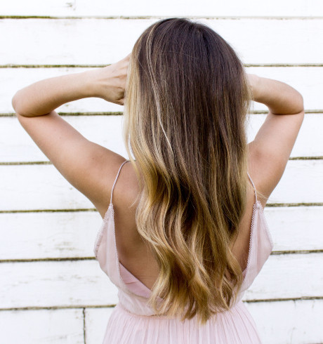 Balayage Blonde/Brown Hair